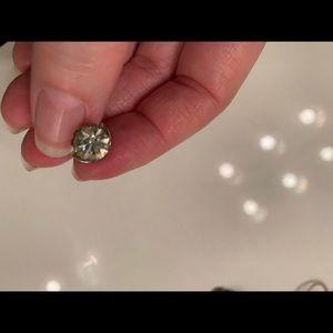 Jewelry - Vintage Ballou rhinestone tie tack